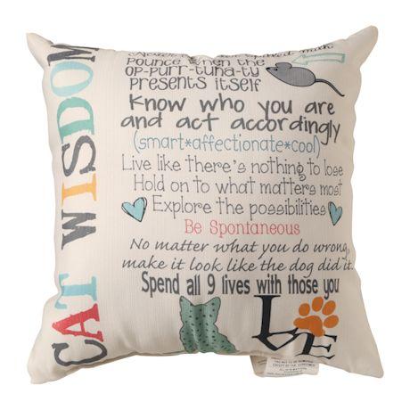 Pet Wisdom Pillows