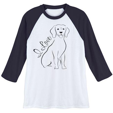 I Love My… Breed Baseball Shirt