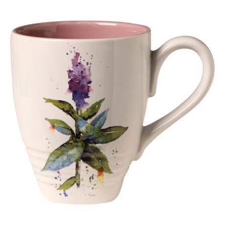 Flowering Herb Mug
