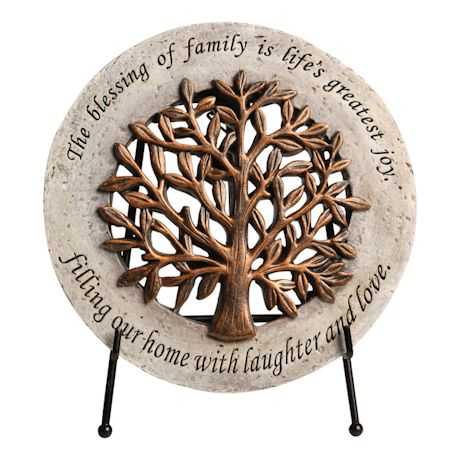Blessing Of Family Plaque