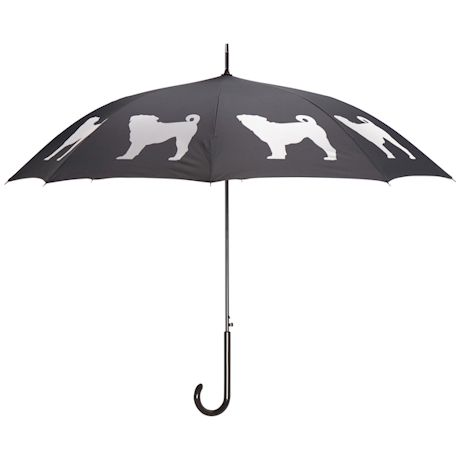 Dog Silhouette Umbrella