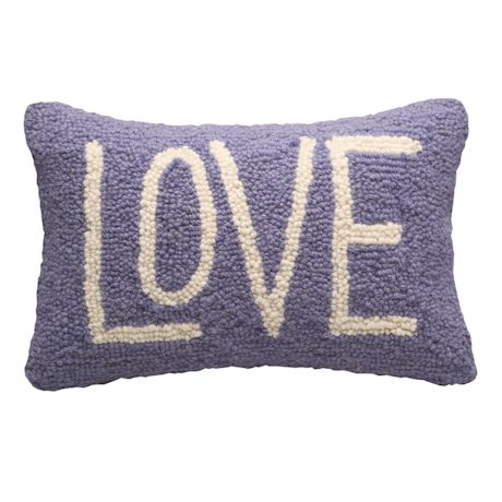 Just One Word Needlepoint Pillow