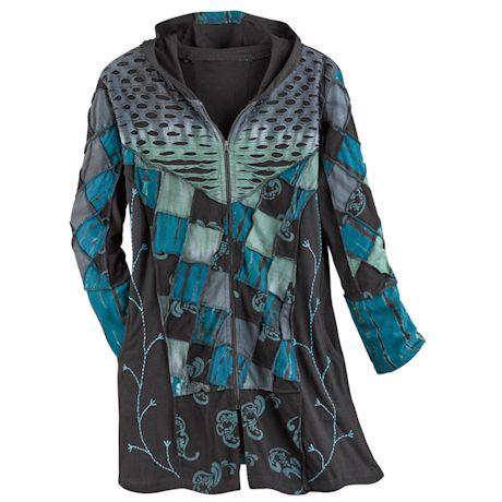 Green Valley Zip-Front Jacket