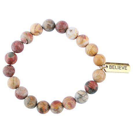 Gemstone Believe Bracelet