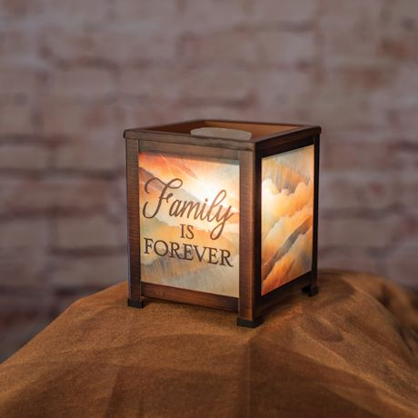 Family Is Forever Electric Lantern/Wax Warmer