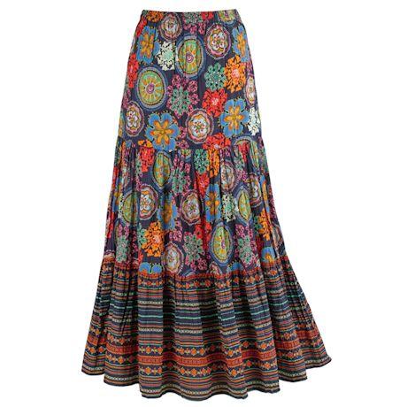 Mardi Gras 3-Tiered Skirt