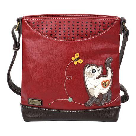 Butterfly Kitty Messenger Bag