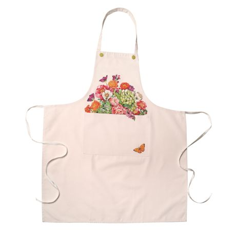 Farm Stand Flowers Apron