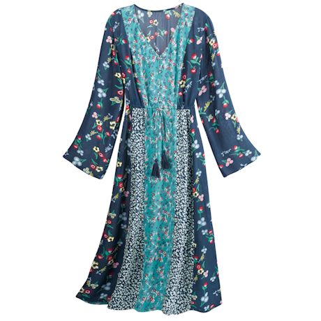Bellavista Mixed Patterns Dress
