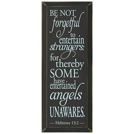 Be Not Forgetful Wood Plaque
