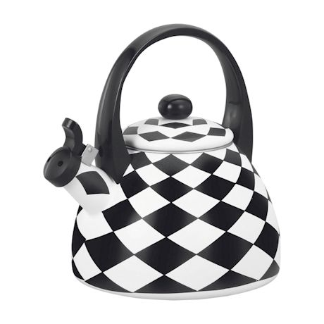 Harlequin Whistling Tea Kettle