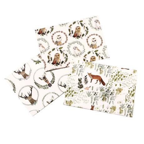 Woodland Creatures Giftwrap