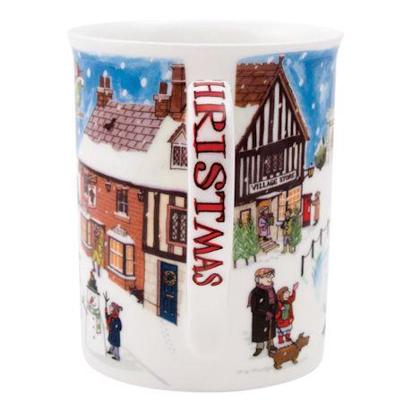 English Village Christmas Mug