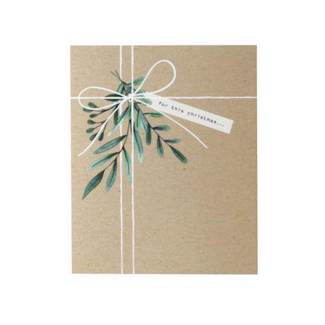 Lump of Coal Christmas Card