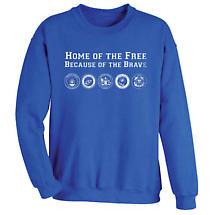 Home of The Free Sweatshirt