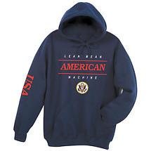 Lean Mean American Machine Hoodie Sweatshirt