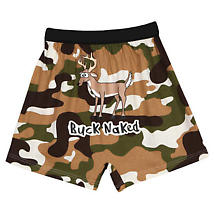 Buck Naked Funny Boxers