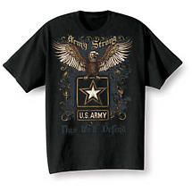 Golden Eagle Military Tee - Army
