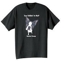 Dog Breed Shirts- Boston Terrier