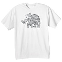 Color Your Own Elephant Tee