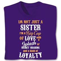 Dash of Sister Shirts