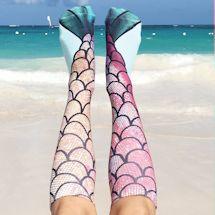 Mermaid Knee Highs