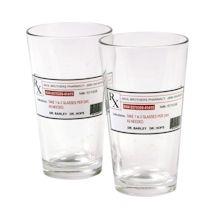 Prescription Pint Glass - Set Of 2