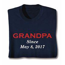 Personalized Grandparent Shirts - Grandpa