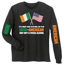 Special Blessings International Shirts - Irish-American