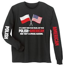 Special Blessings International Shirts - Polish-American