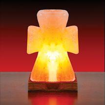 Himalayan Salt Cross Lamp