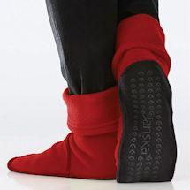Janska® MocSocks® - Unisex Non Skid Fleece Slipper Socks