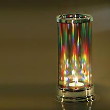 Crystal Prism Candle Holder