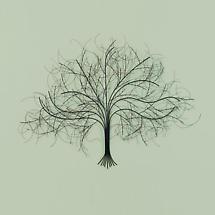 Black Tree Wall Art