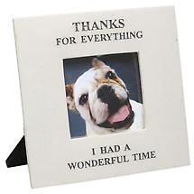 "Thanks For Everything Memorial Frame 5"" X 5"""