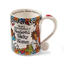 The Sacred Sisterhood Of Wonderful Wacky Women Mug