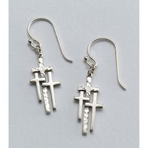Calvary Crosses Earrings
