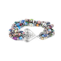 Healing Heart Elastic Bracelet