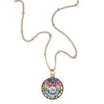 Mosaic Crystals Necklace