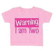 Personalized - Warning I Am ___ T-Shirt - Pink