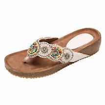Sparkly Summer Sandals - Bejeweled