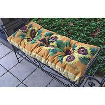 Sunflower Glory Bench Cushion