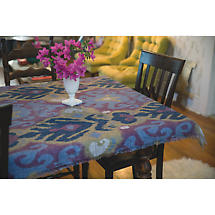 Orchid Graphic Ikat Throw