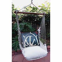 Captain's Chair Swing Chair Set