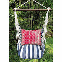 Red White And Blue Swing Chair Set