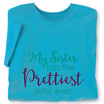 My Sister Has... Personalized Ladies T-Shirt