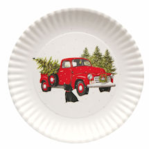 Country Christmas Platter