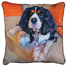 Cavalier Portrait Pillow