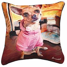 Chihuahua Portrait Pillow