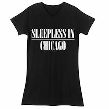 Sleepless In...Personalized Sleepshirt